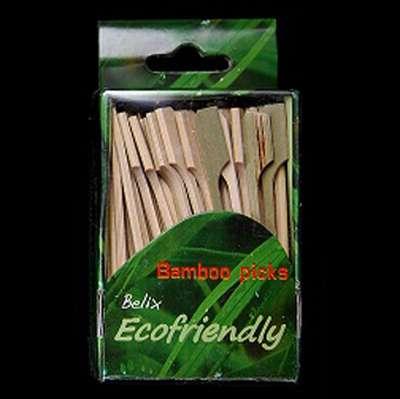 Bambusová špízová jehla 7 cm - 100 ks/B92