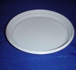 Talíř 22cm PS bílý - 100 ks