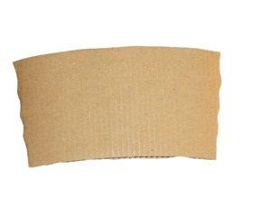 Objímka papírová hnědá na kelímek 300 - 500 ml