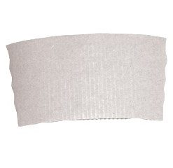 Objímka papírová bílá na kelímek 250 ml