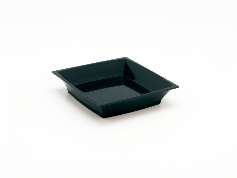 Desertní talířek černý 30ml - 50 ks/MMB