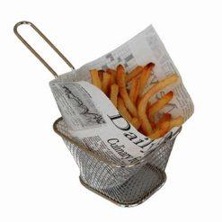 Snacking pocket 13x13,5 cm - potisk noviny