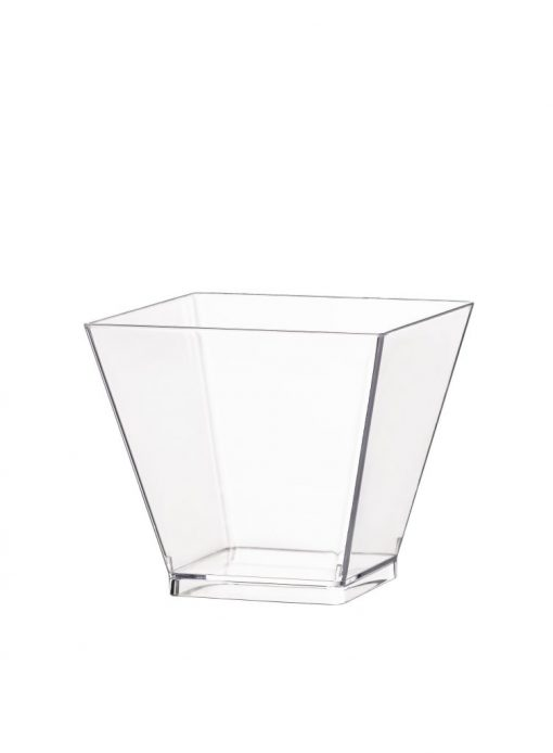 Miska hranatá Glass 50ml
